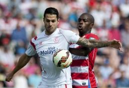 "Ispanijoje taškus prarado ""Sevilla"" ir ""Villarreal"" ekipos (VIDEO)"