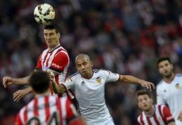 """""""Valencia"""" rungtynių pabaigoje išleido pergalę prieš """"Athletic"""" futbolininkus (VIDEO)"""