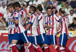 """Ispanijoje - """"Atletico"""" ir """"Sevilla"""" klubų pergalės (VIDEO)"""