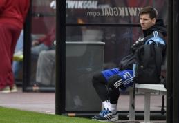 """L.Messi veikiausiai išbėgs į aikštę rungtynėse prieš """"Celta"""""""