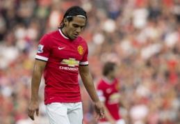 """""""Man Utd"""" nesusigundė išpirkos galimybe - R.Falcao grįžta į """"Monaco"""""""
