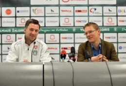 """D.Šemberas: """"Šiemet turime laimėti visuose frontuose, LFF taurės finalas - ne išimtis"""""""