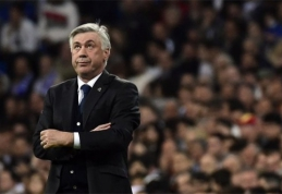 C.Ancelotti nušalintas nuo likusių Ispanijos čempionato rungtynių