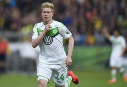 """Wolfsburg"" treneris: De Bruyne liks klube"