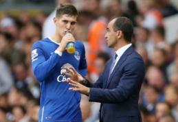 R. Martinezas: Stonesas puikiai susidorojo su spaudimu ir ateityje gali tapti rinktinės kapitonu