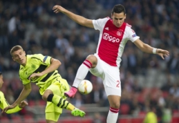 A. El Ghazi: pasirinkti Nyderlandus man patarė Ronaldo