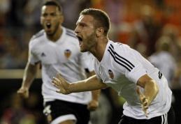 """S.Mustafi įvartis """"Valencia"""" ekipai atnešė pergalę prieš """"Granada"""" (VIDEO)"""