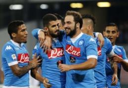 """Serie A: """"Juventus"""" laimėjo pirmą kartą, o """"Napoli"""" net 5-0 sudaužė """"Lazio"""" (VIDEO)"""