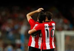 """""""Villarreal"""" ir """"Athletic"""" džiaugėsi pergalėmis, """"Celta"""" prarado taškus"""
