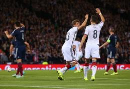 EURO 2016 atranka: portugalai ir vokiečiai iškovojo sunkias pergales, lenkai pelnė aštuonis įvarčius (VIDEO)