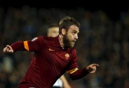 """D. De Rossi – brangiausiai apmokamas """"Serie A"""" futbolininkas"""