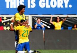 Hulko įvartis padovanojo brazilams pergalę (VIDEO, rezultatai)