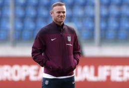 """""""Man Utd"""" legendos W. Rooney tikslas – tapti vyriausiuoju """"Derby"""" treneriu"""