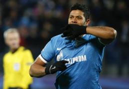 "Hulkas: ""Zenit"" noriu likti dar dešimt metų"