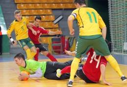 Lietuvos Futsal rinktinė pralaimėjo albanams