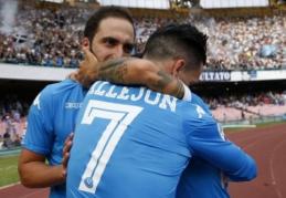 """Serie A: """"Napoli"""" palaužė """"Fiorentina"""", """"Juventus"""" ir """"Inter"""" dvikova baigėsi be įvarčių (VIDEO)"""