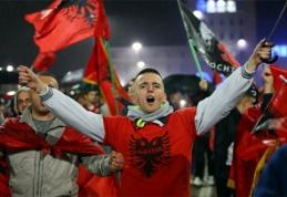 Albanijos ir Rumunijos futbolininkai - Europos čempionate (VIDEO)