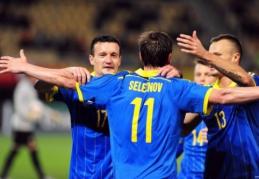 Anglija iškovojo devintąją pergalę, o baltarusiai suteikė viltį Ukrainai (VIDEO)