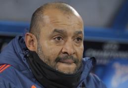 """Nuno pasitraukė iš """"Valencia"""" trenerio posto"""
