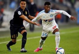 """Prancūzijoje - """"Saint-Etienne"""" pergalė bei rezultatyvios """"Marseille"""" ir """"Monaco"""" lygiosios"""