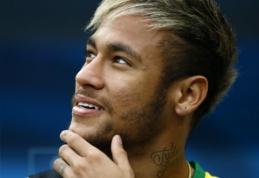 """Neymaras nori pratęsti sutartį su """"Barcelona"""""""