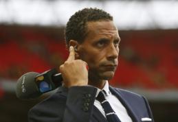 """R. Ferdinandas: šiemetinė """"Premier"""" lyga yra silpniausia per pastaruosius 15 metų"""