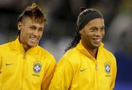Ronaldinho: šiuo metu Neymaras yra geriausias pasaulyje