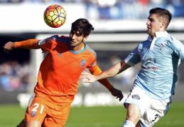 """""""Valencia"""" pažemino """"Celta"""" futbolininkus jų pačių aikštėje (VIDEO)"""