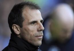 "G. Zola: mano svajonė - treniruoti ""Chelsea"""