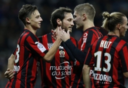 """Devynioliktojo """"Ligue 1"""" turo starte - """"Nice"""" pergalė prieš """"Montpellier"""" (VIDEO)"""