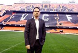 """G.Neville'as: neįžeidinėsiu sakydamas, jog žaisime """"Man Utd"""" stiliaus futbolą (FOTO)"""