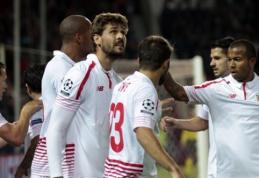 """Varžovus sutriuškinę """"Sevilla"""" ir """"Mirandes"""" klubai žengė į Karaliaus taurės ketvirtfinalį"""