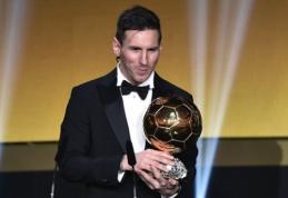 Geriausiu 2015 m. futbolininku išrinktas L. Messi, treneriu - L. Enrique (VIDEO, FOTO)