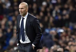 Po debiuto prabilęs Z. Zidane'as: esu nustebintas