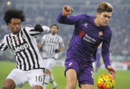 """M. Alonso bei M. Fernandezas susiejo savo ateitį su """"Fiorentina"""""""