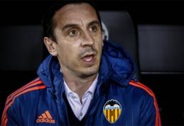 """Pasikeitę """"Valencia"""" planai: ketina G.Neville'ui siūlyti naują sutartį"""