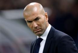 """""""Marca"""": """"Real"""" turi du kandidatus užimti Z. Zidane'o vietą"""