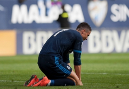"""Madrido klubai prarado svarbius taškus kovoje dėl titulo, """"Valencia"""" pradėjo rodyti atsigavimo ženklus (VIDEO)"""