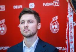 S. Mikoliūnas: jaučiasi didelis naujojo trenerio profesionalumas