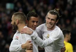 """""""Real"""" į """"Sevilla"""" vartus pasiuntė keturis įvarčius, """"Barcos"""" pergalių serija nutrūko Viljarealyje (VIDEO)"""