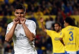"""Po atkaklios kovos """"Real"""" palaužė """"Las Palmas"""", """"Sevilla"""" namuose pranoko """"Villarreal"""" (VIDEO)"""
