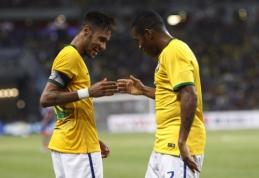 """""""Copa America"""": Brazilijos rinktinė - be Neymaro, Marcelo, Luizo ir Silvos"""