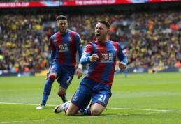 """Man Utd"" FA taurės finale susigrums su ""Crystal Palace"" (VIDEO)"