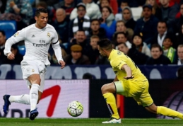 """""""Real"""" baiminasi netekti rungtynių su """"Villarreal"""" neužbaigusio C. Ronaldo"""