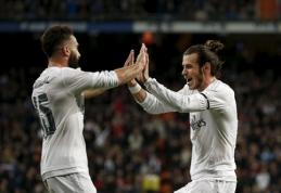 """""""Real"""" prieš """"Villarreal"""" versis be G. Bale'o ir D. Carvajalio"""