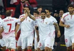 """Europos lygos ketvirtfinalyje - """"Sevilla"""", """"Shakhtar"""" ir """"Villarreal"""" pergalės (VIDEO)"""