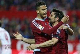 """""""Real Sociedad"""" palaužė """"Sevilla"""", G. Arlauskis nuo suolo stebėjo """"Espanyol"""" lygiąsias (VIDEO)"""