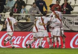 """""""Rayo Vallecano"""" įtikinamu rezultatu nugalėjo """"Getafe"""" (VIDEO)"""