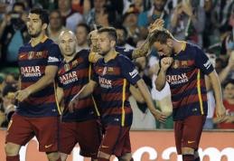 """Kas šį vakarą džiaugsis titulu Ispanijoje? (Paskutinio """"La Liga"""" turo apžvalga)"""