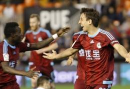 """""""Real Sociedad"""" sezoną Ispanijoje baigė pergale prieš """"Valencia"""" (VIDEO)"""